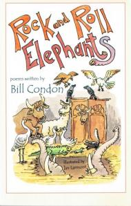 Rock and Roll Elephants Large by Bill Condon