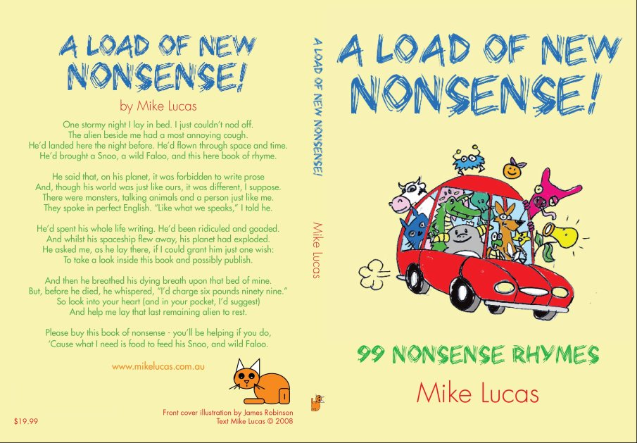 Mike Lucas A Load of New Nonsense