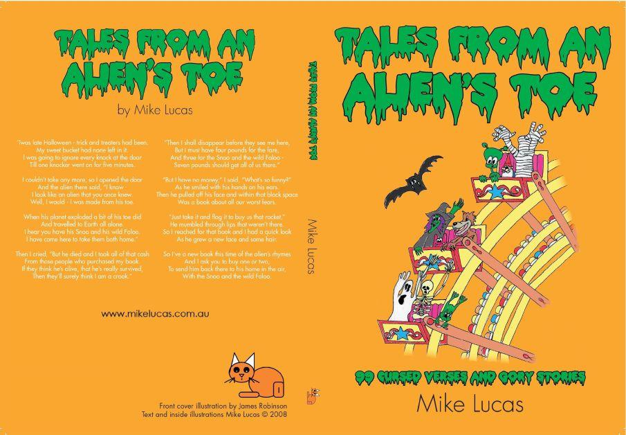 Mike Lucas Tales from an Alien's Toe2