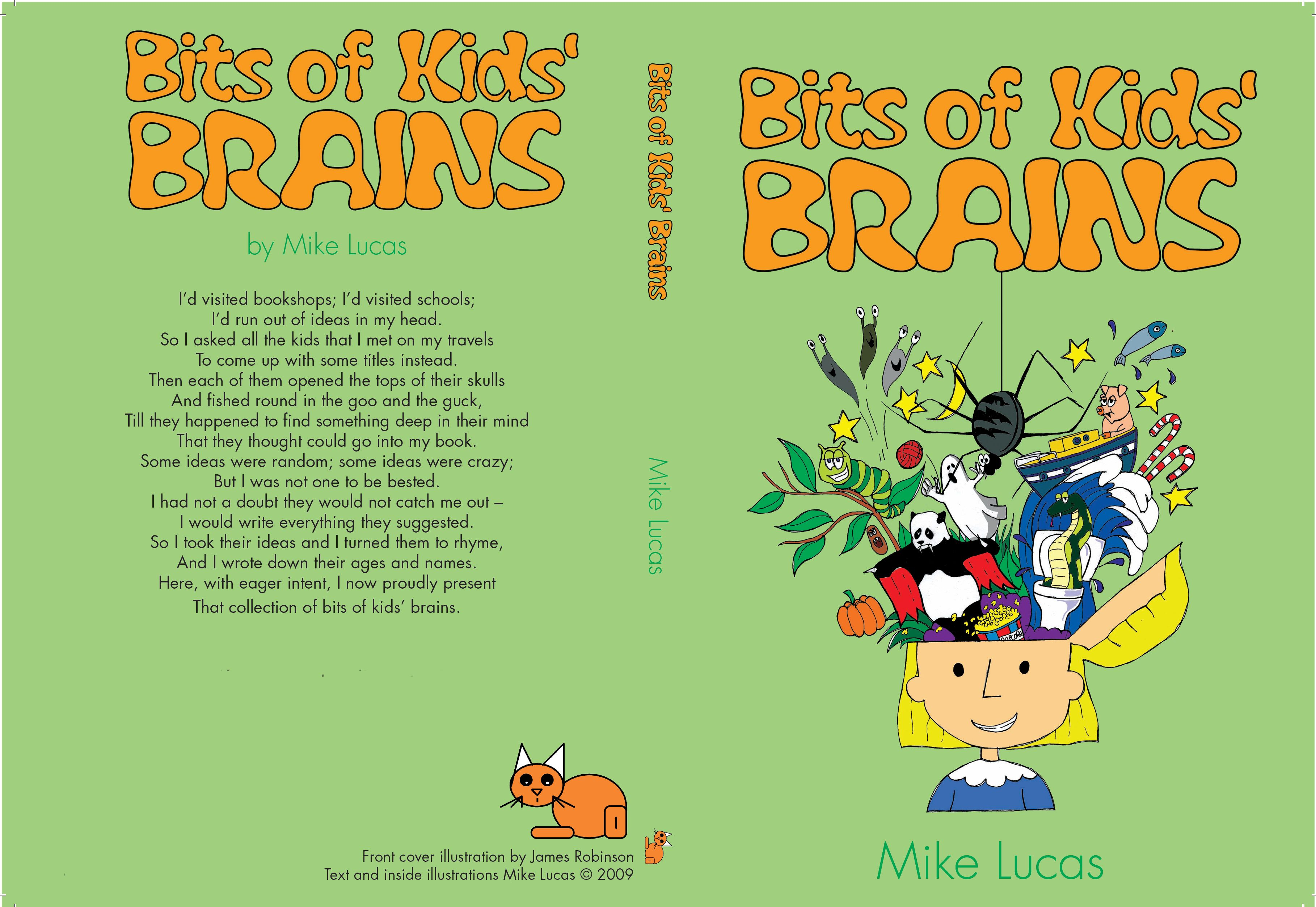 Children S Book Back Cover : Bits of kids brains australian children s poetry