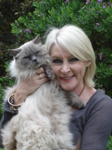 Pic Jenny Blackford with cat