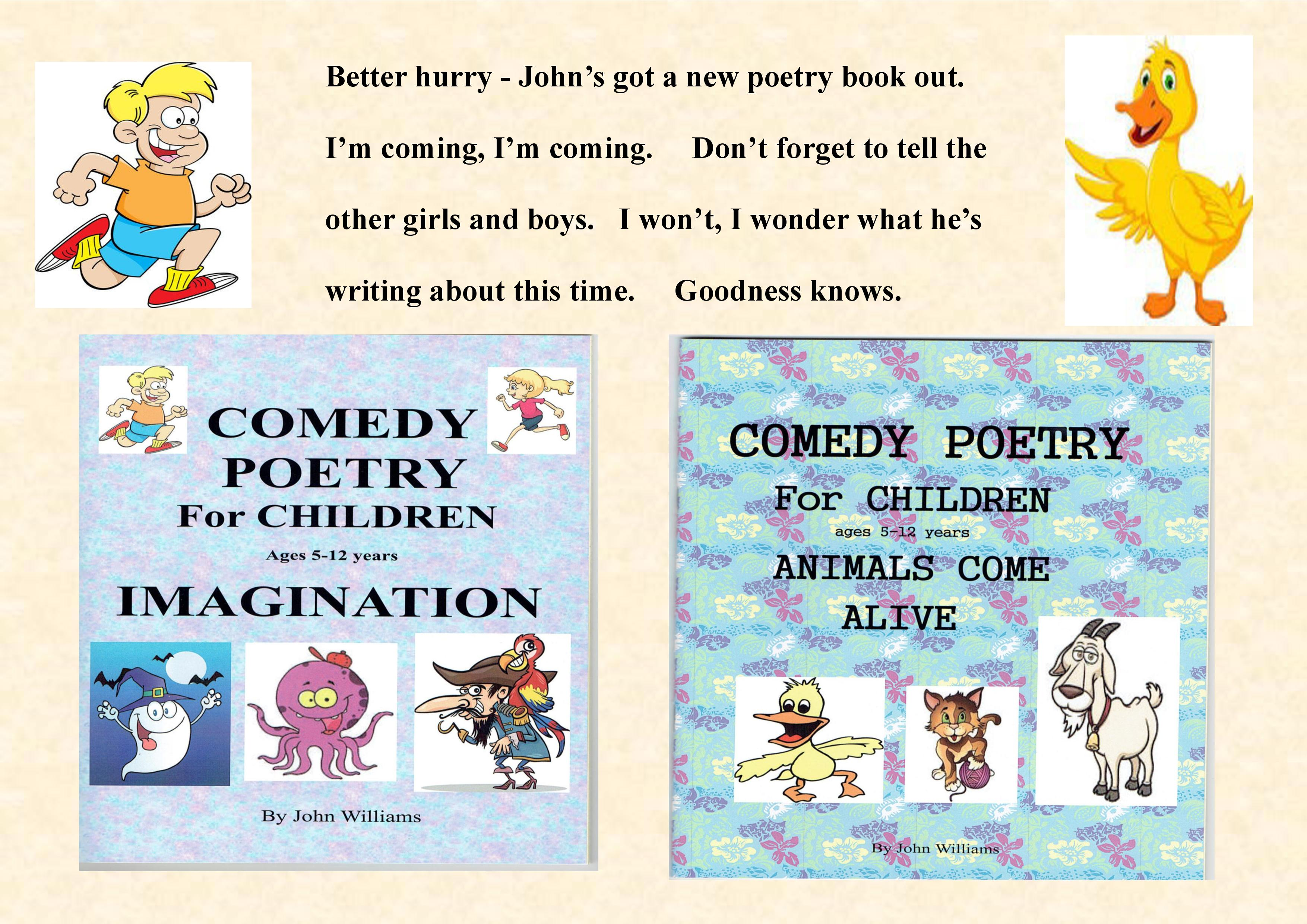 Poetry Book Cover For Kids : John williams australian children s poetry